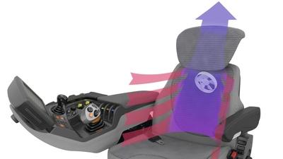 Сидіння. Трактор CLAAS AXION 950-920