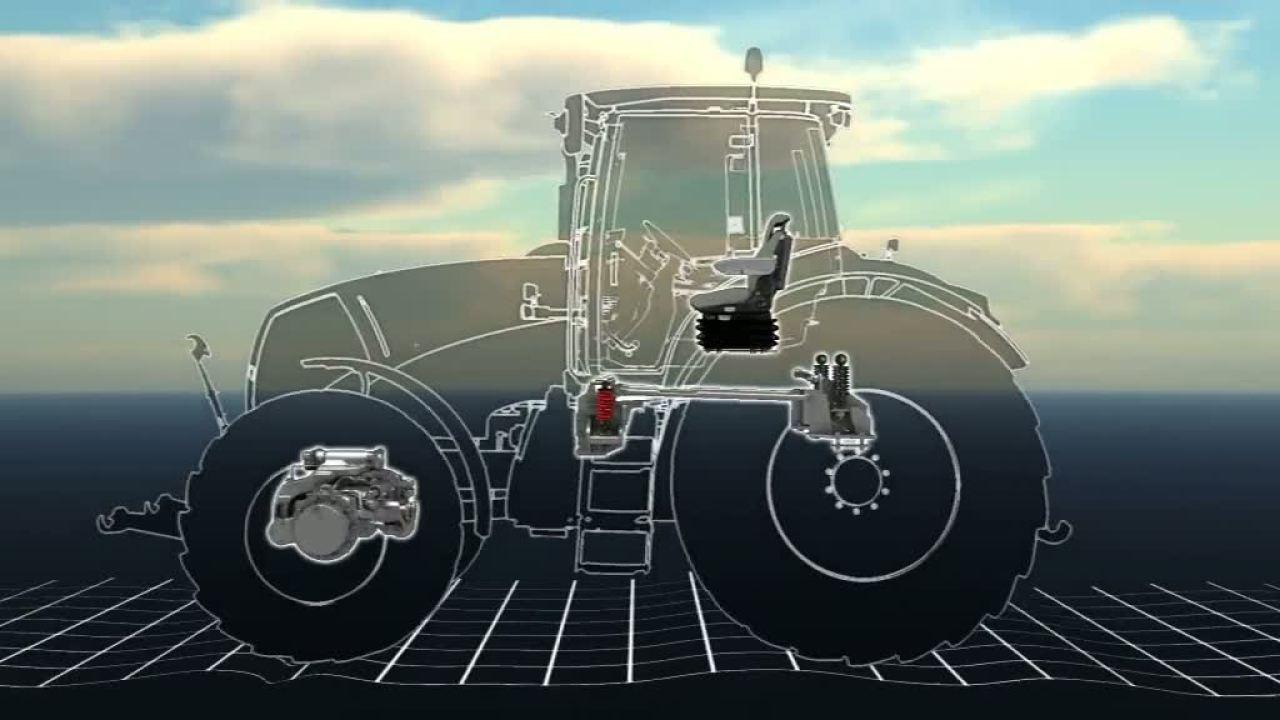 Амортизація. Трактор CLAAS AXION 850/820