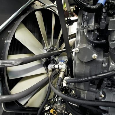 Вентилятор. Трактор CLAAS XERION 5000–4000