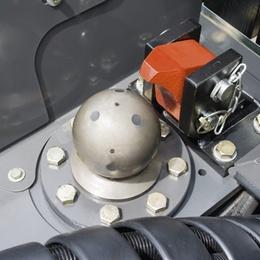 Кулькове зчеплення. Трактор CLAAS XERION 5000–4000
