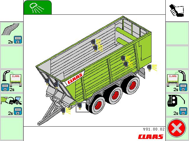 Причіп CLAAS CARGOS 760-740