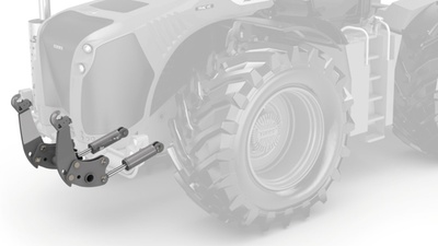 Переднє навішування. Трактор CLAAS XERION 5000–4000