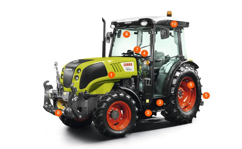 Трактор CLAAS NEXOS 240-210
