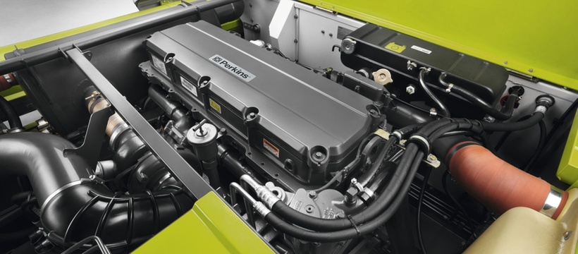 Двигун. Зернозбиральний комбайн CLAAS LEXION 770-750