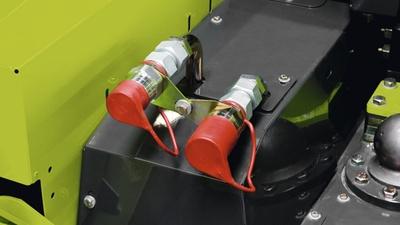 Додаткова гідравліка. Трактор CLAAS XERION 5000–4000
