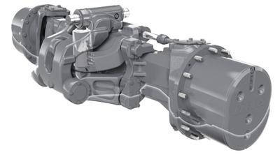 Передня підвіска. Трактор CLAAS AXION 950-920