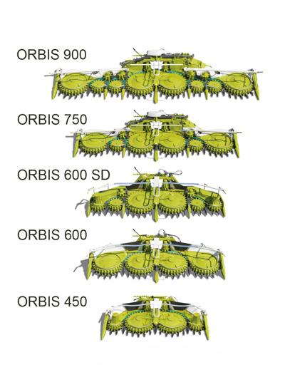 ORBIS. Кормозбиральний комбайн CLAAS JAGUAR