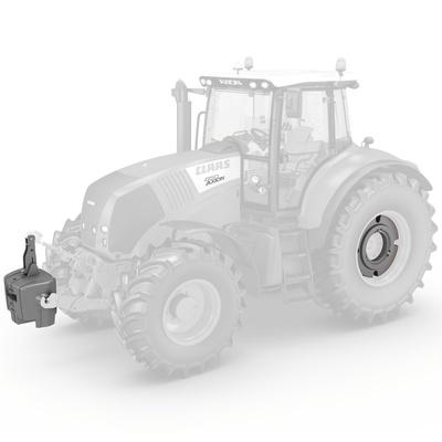 Баластування. Трактор CLAAS AXION 850/820