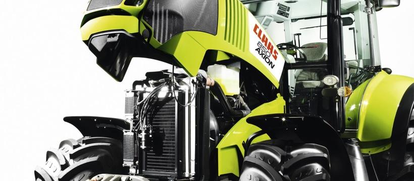 Техобслуговування. Трактор CLAAS AXION 850/820