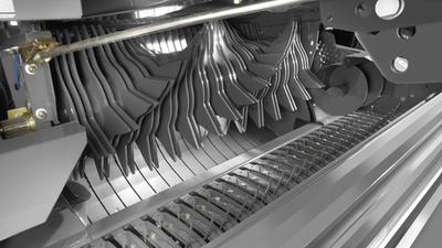 Ножі. Рулонний прес-підбирач CLAAS ROLLANT 375/374 UNIWRAP