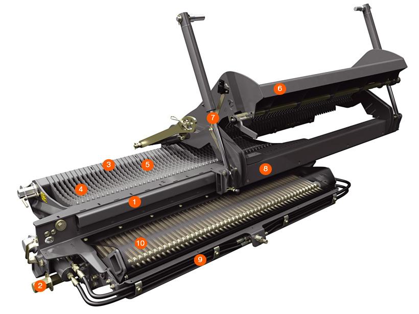 Ящик для ножів. Тюковий прес-підбирач CLAAS QUADRANT 3200
