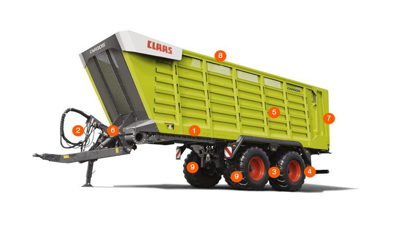 Прицеп CLAAS CARGOS 760-740