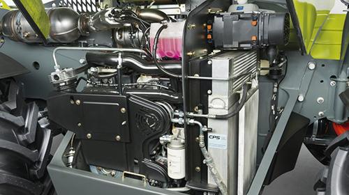 Телескопічний навантажувач CLAAS SCORPION 1033–635