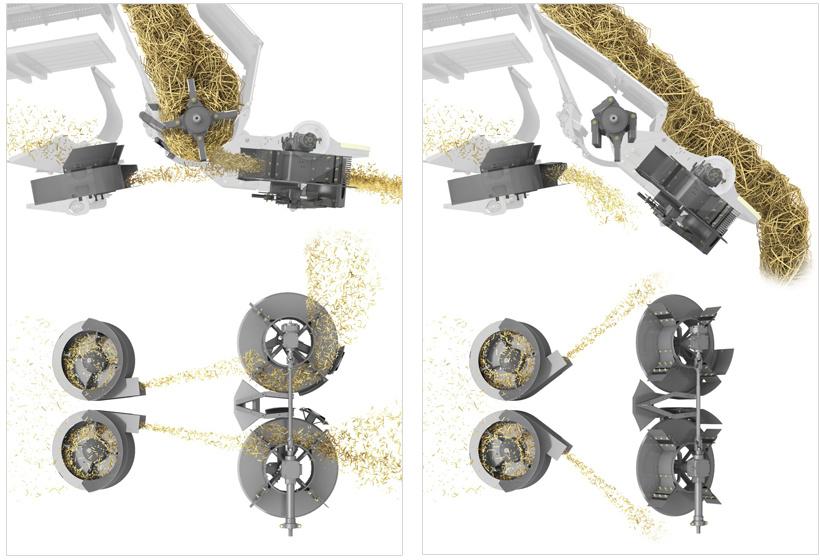 Розподільник. Зернозбиральний комбайн CLAAS LEXION 770-750