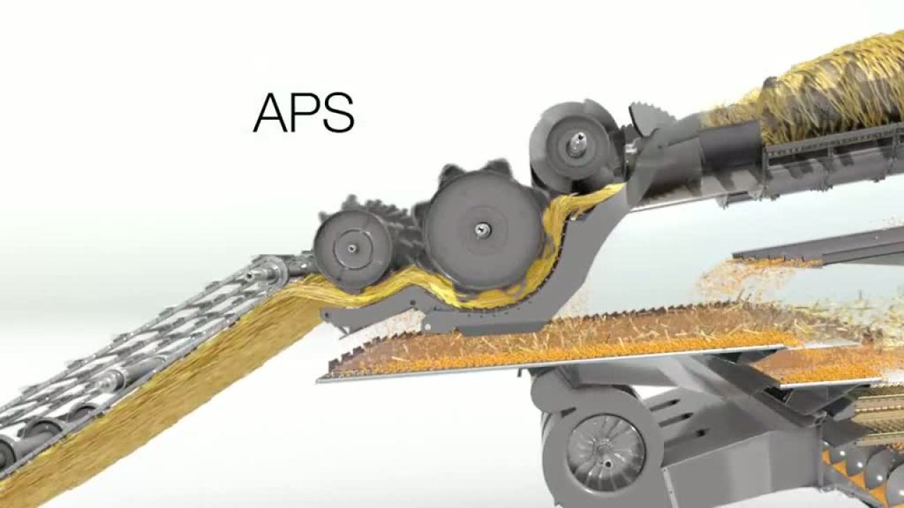Система обмолоту APS. Зернозбиральний комбайн CLAAS LEXION 770-750