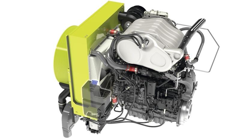 Двигун. Зернозбиральний комбайн CLAAS AVERO 240/160