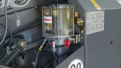 Централізоване мащення. Зернозбиральний комбайн CLAAS TUCANO 450-320