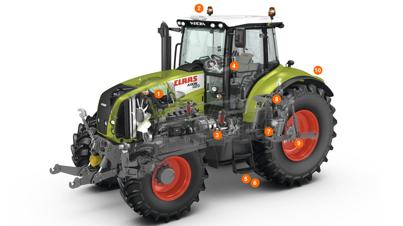 Трактор CLAAS AXION 850/820