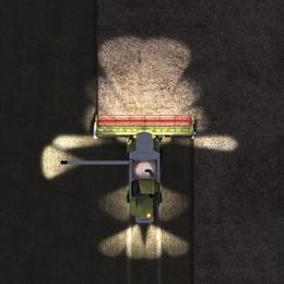 Освітлення. Зернозбиральний комбайн CLAAS TUCANO 580/570