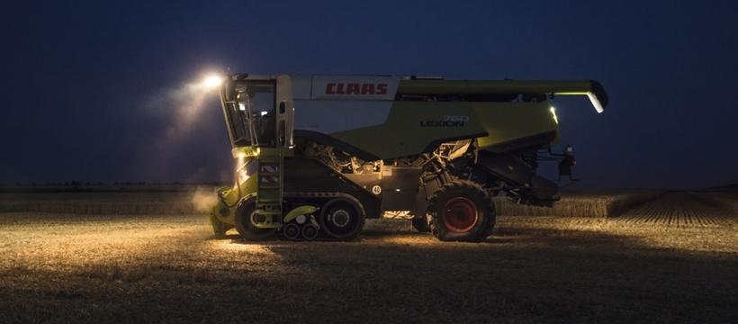Зернозбиральний комбайн CLAAS LEXION 770-750