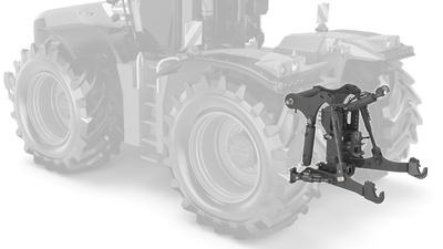 Заднє навішування. Трактор CLAAS XERION 5000–4000