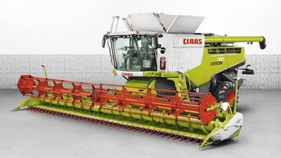 Зернозбиральний комбайн CLAAS LEXION