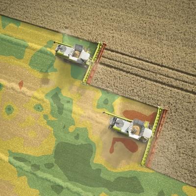 Врожайність. Зернозбиральний комбайн CLAAS LEXION 670/650