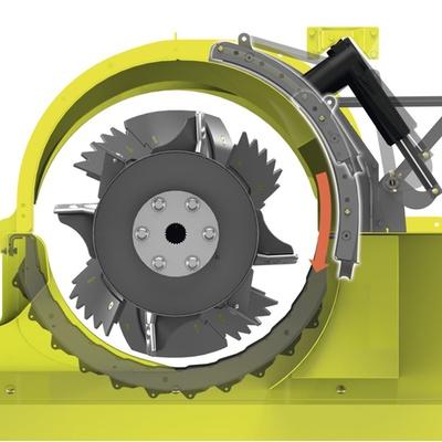 Подрібнювач. Зернозбиральний комбайн CLAAS TUCANO 450-320