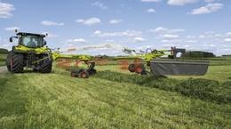 GRASS CARE. Валкоутворювач CLAAS LINER