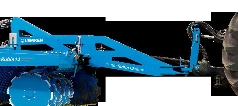 Дискова борона LEMKEN Rubin 12