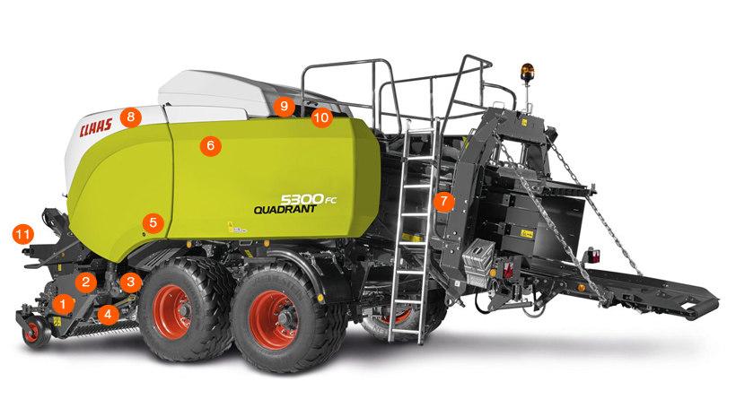CLAAS QUADRANT 5300