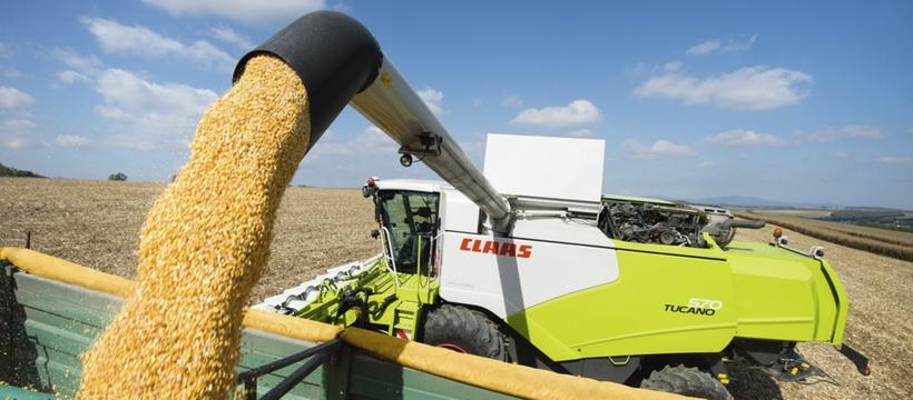Зернозбиральний комбайн CLAAS TUCANO 450-320