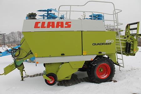 Тюковий прес-підбирач CLAAS QUADRANT 1150