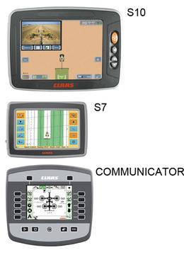 Термінали ISOBUS. Трактор CLAAS ARION 640-620