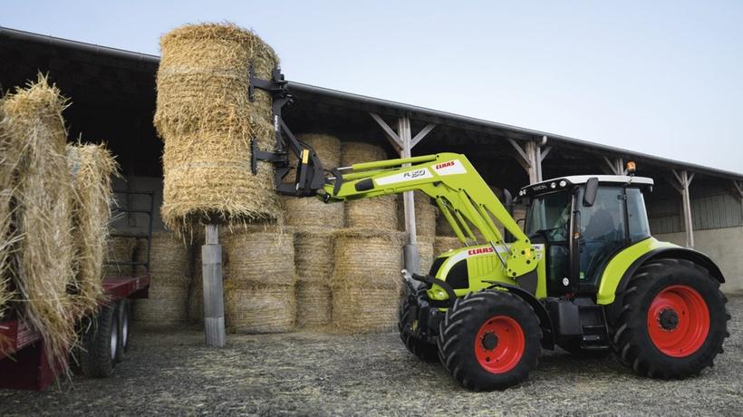 Фронтальний навантажувач. Трактор CLAAS ARION 640-620