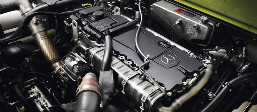 Двигун. Зернозбиральний комбайн CLAAS TUCANO 580/570