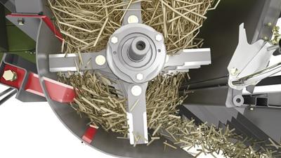 Подрібнювач. Зернозбиральний комбайн CLAAS TUCANO 580/570