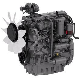 Двигун. Трактор CLAAS AXOS 340-310