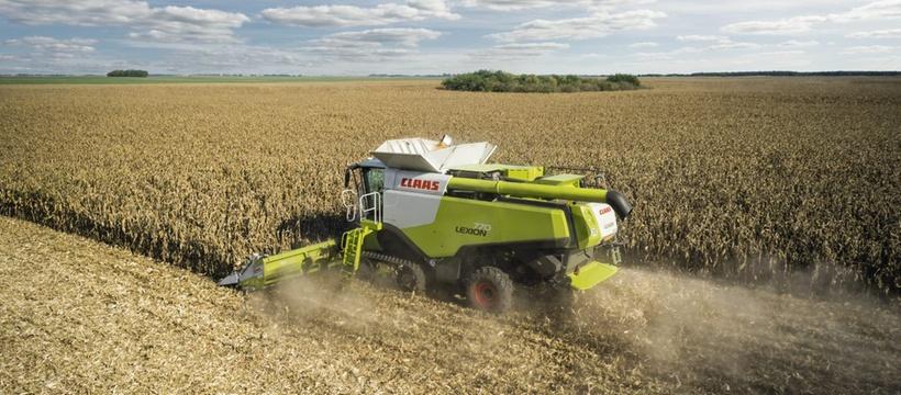 ROTO PLUS. Зернозбиральний комбайн CLAAS Lexion 770-750