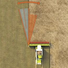 LASER PILOT. Зернозбиральний комбайн CLAAS TUCANO 580/570