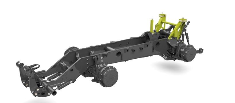 Рама. Трактор CLAAS XERION 5000–4000