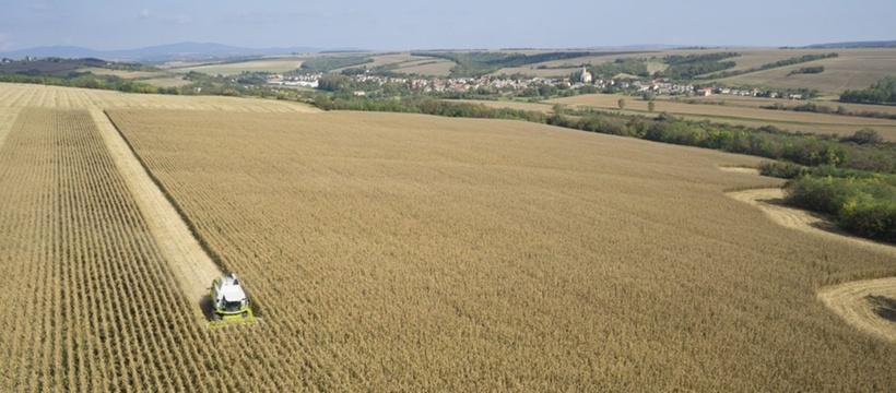 Зернозбиральний комбайн CLAAS